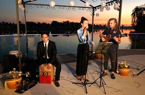 Grupo Flamenco Tocando